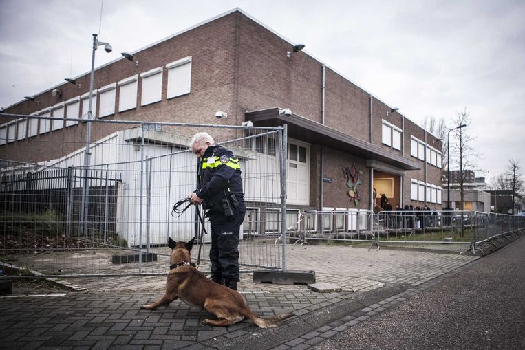 Rechtbank de Bunker in Amsterdam Beeld anp