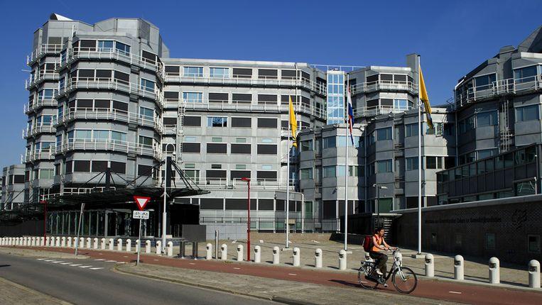 Exterieur van de Algemene Inlichtingen- en Veiligheidsdienst (AIVD) in Zoetermeer. Beeld anp