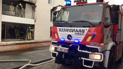 Isolatiemateriaal vat vuur bij werken in appartement