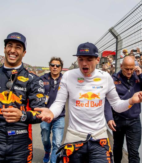 Verstappen juicht voor Rode Duivels, Ricciardo voor 'Dutch Bert'