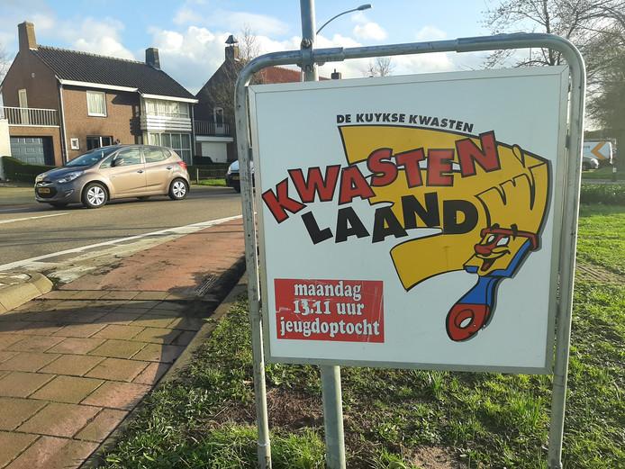 Carnaval kombord Nieuwkuijk Kwastenlaand