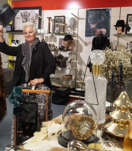 Mieke Rietman even terug in Haaksbergen met vintage pop-upstore