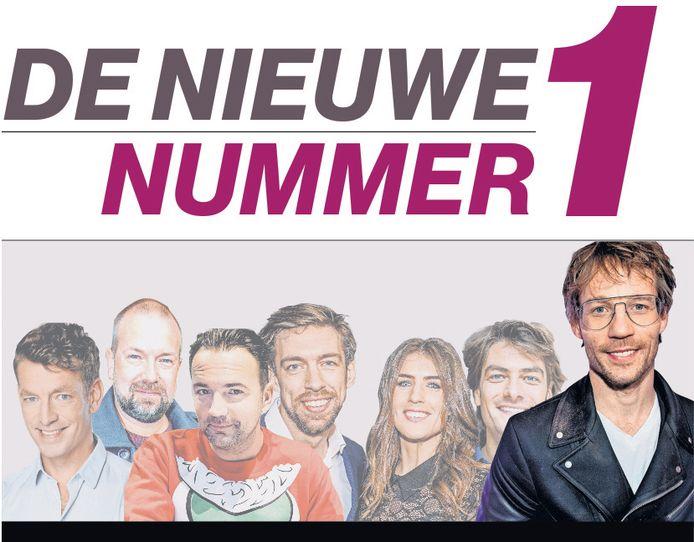 Giel Beelen Veronica Verreweg Het Meest Onderscheidend Show Ad Nl