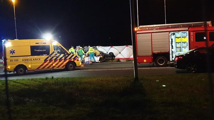 Ernstig ongeval op A1 bij Hengelo