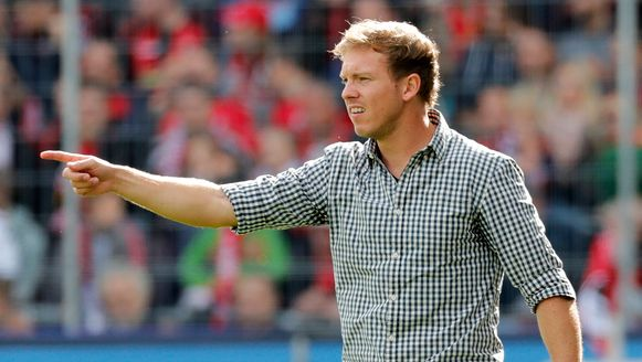 Julian Nagelsmann, momenteel coach van Hoffenheim