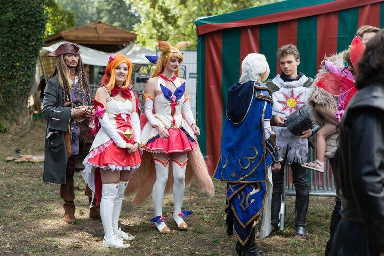 Elftopia is een paradijs voor cosplayers.