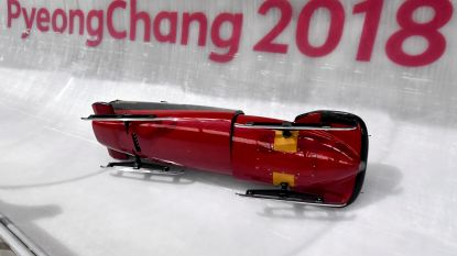 'Belgian Bullets' crashen op eerste trainingsdag in Pyeongchang