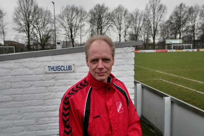 Pim Kornuyt kon met Rood Wit '62 niet winnen op bezoek bij FC De Rakt.