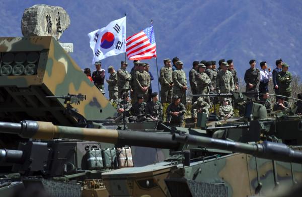 **Legeroefeningen Zuid-Korea en VS voorlopig opgeschort**