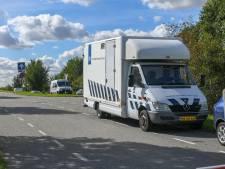 Reconstructie schietpartij woonwagenkamp Alphen