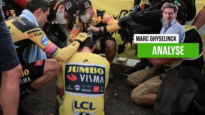 """Onze chef wielrennen ziet hoe Roglic en Jumbo-Visma roemloos ten onder gaan: """"Als een dronkenman de Tour verloren"""""""