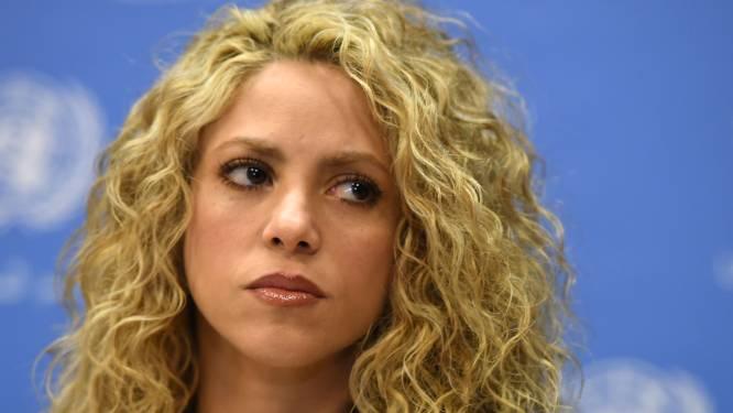 Shakira blaast complete Europese tour af
