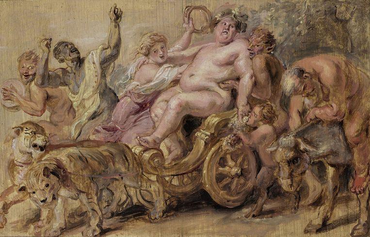 Peter Paul Rubens, De triomftocht van Bacchus, ca. 1636, olieverf op paneel, Stichting Museum Boijmans Van Beuningen (voorheen Koenigscollectie) Beeld Museum Boijmans Van Beuningen