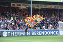 Het was rustig op de tribunes van de Adelaarshorst tegen Excelsior.
