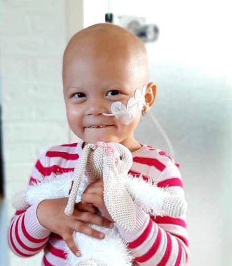 Duizenden verjaardagskaarten voor doodzieke Eva (2) dankzij politie Zwolle