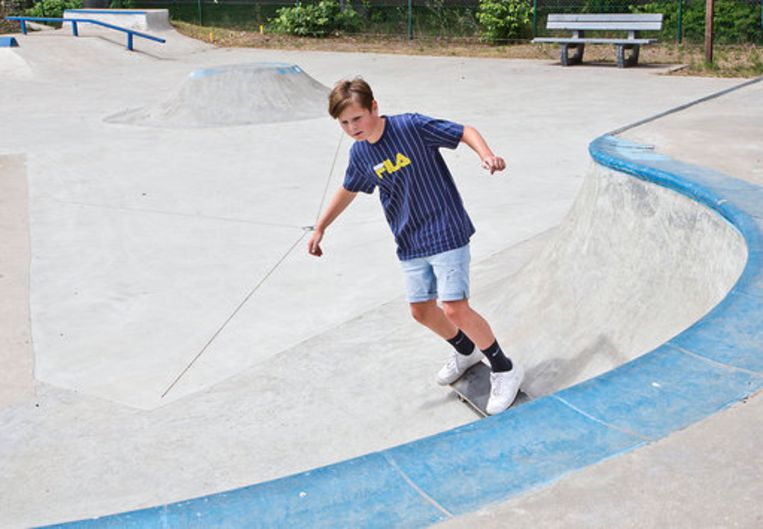 Het skatepark in Vorselaar is sinds woensdag weer open.