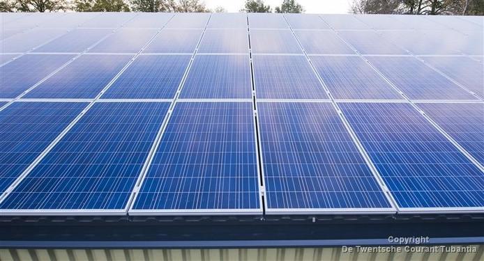 Voor de uitvoering van het zonnepanelenplan is ook nog eens subsidie te krijgen.