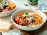 Wat eten we vandaag: Spaghetti met gehaktbal en tomatensaus