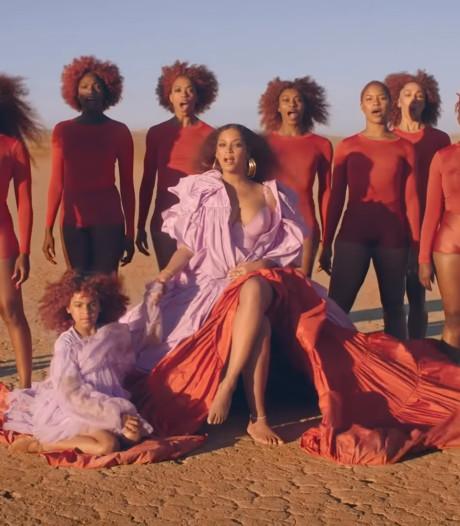 Blue Ivy in videoclip van Beyoncé met identieke jurk als haar moeder