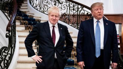 """Johnson vindt steun bij Trump: """"Hij zal bewijzen dat hij 'een grote' is"""""""