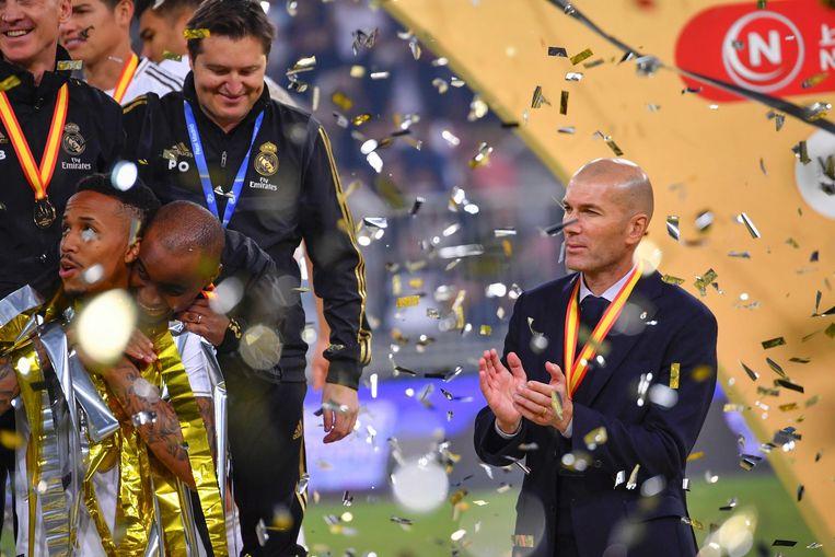 Nieuw succes voor Zidane bij Real.