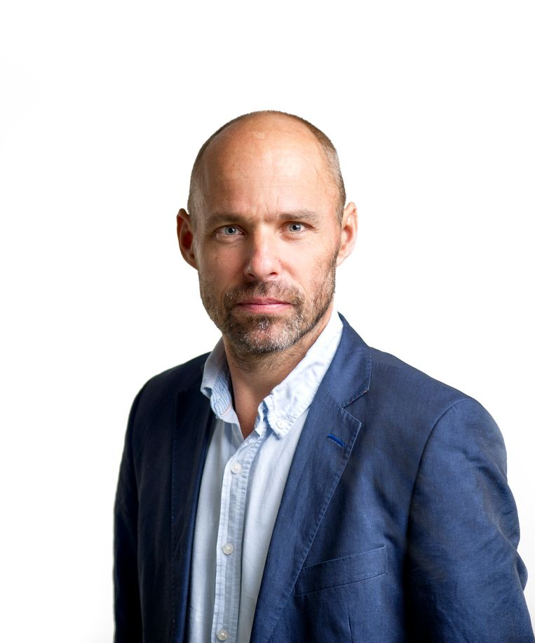 Thomas Bruning, algemeen secretaris van de Nederlandse Vereniging van Journalisten (NVJ). Beeld null