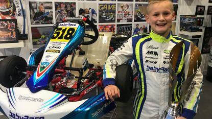 Ean Eyckmans (10) wint zilver op WK karting