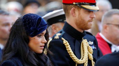 """Britse krant onthult: """"Britten moeten nog steeds opdraaien voor beveiligingskosten van Harry & Meghan"""""""