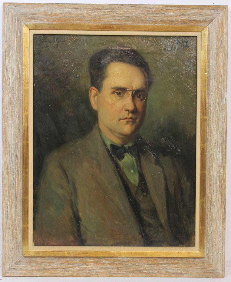 Het portret van Jan van Gilse door Heinrich Martin Krabbé. Beeld Heinrich Martin Krabbé