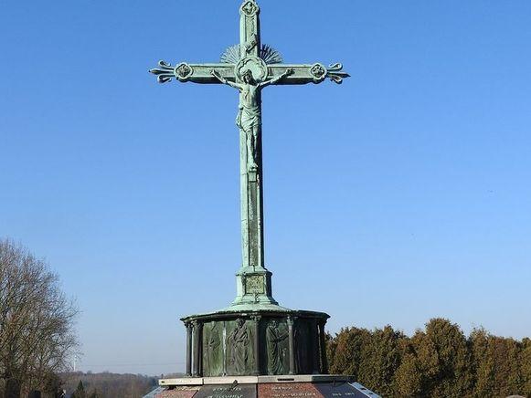 De calvarie op het kerkhof van Wemmel is nu definitief beschermd.