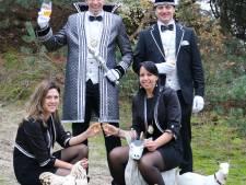 Prins en adjudant uit Geesteren zwaaien scepter in Langeveen: 'Uit Klein Langeveen'