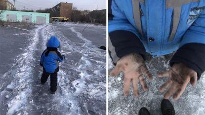 Wetenschappers staan voor raadsel: er valt zwarte sneeuw in dit stadje