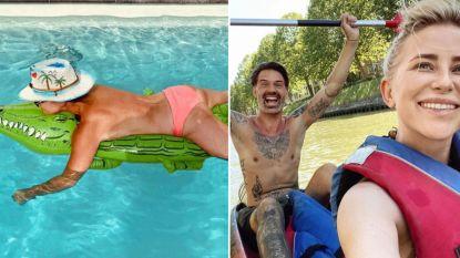 HITTE-BITS:  BV's genieten van de zon en chillen aan het zwembad