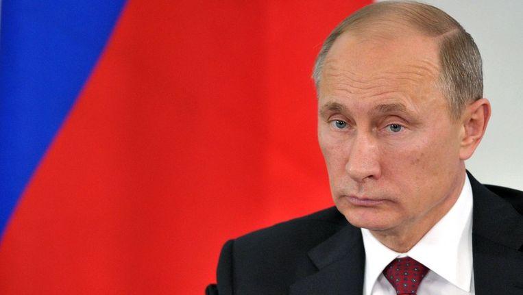 Vladimir Poetin Beeld afp