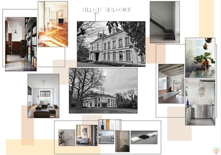 Deze foto's geven de stijl weer die VillaVip voor ogen heeft met Berlaarhof