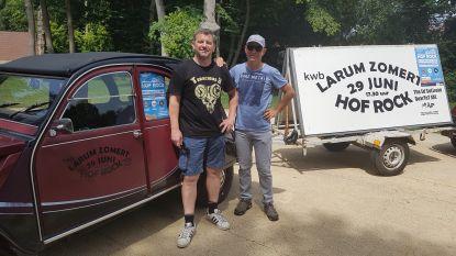 """'Hof Rock' is het nieuwe dorpsfestival van Larum: """"Hier kan je het podium nog echt aanraken"""""""