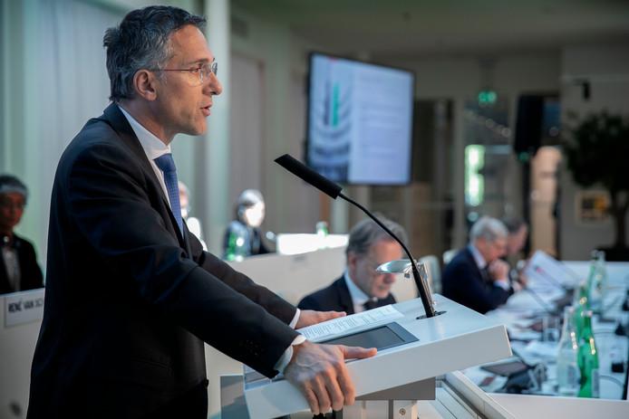 Eric Rondolat, topman van het Eindhovense lichtbedrijf Signify.