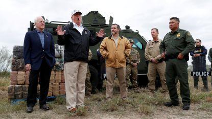 """Trump die noodtoestand dreigt uit te roepen: """"Ik heb nooit gezegd dat Mexico voor de muur zou betalen"""""""