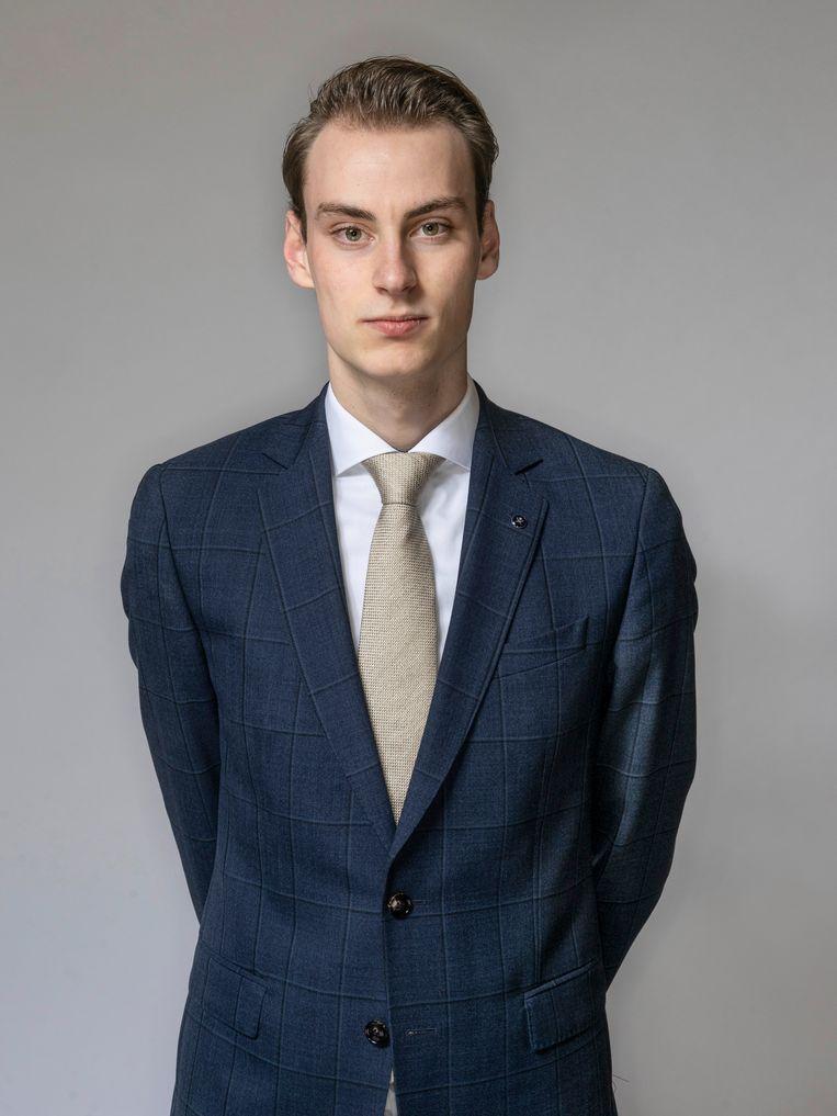 Daniël Hol (20): 'Het belangrijkste dat ik hier leerde is discipline. Ik heb een passie voor exclusieve auto's en hoop straks een managementfunctie te krijgen in de automotive.' Beeld Adrie Mouthaan