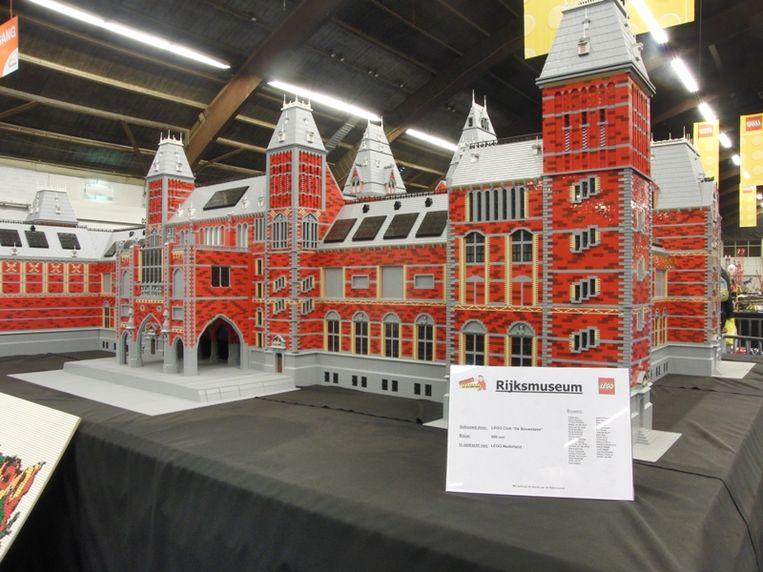 Rijksmuseum van LEGO Beeld silvio fontaine