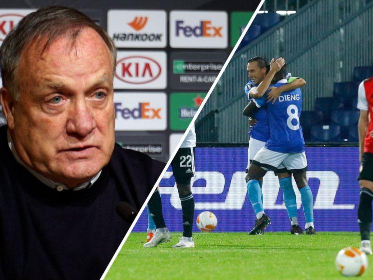 Pijnlijk verlies Feyenoord: 'Gevoel dat je genaaid wordt'