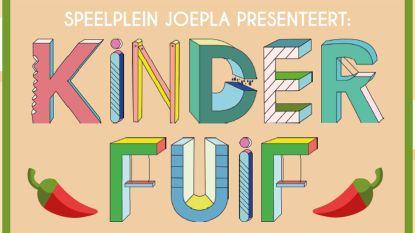 Ook de jongsten mogen feesten: zaterdag Kinderfuif op Speelplein Joepla