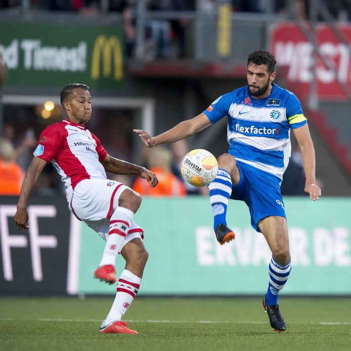 De Graafschap-aanvoerder Sven Nieuwpoort mist het duel met SC Heerenveen.