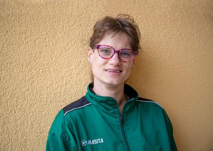 Alette van den Berg hoopt dat ze snel weer kan scoren voor DVO.