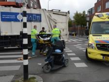 Bestuurder van scootmobiel gewond na aanrijding met vrachtwagen