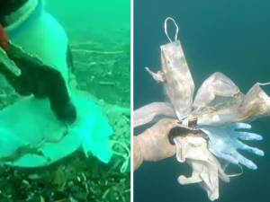 """Masques et gants polluent déjà la Méditerranée: """"Un vrai désastre écologique"""""""
