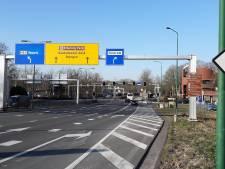 Europalaan bij Efteling nog vijf nachten dicht door laatste werk aan wisselstroken