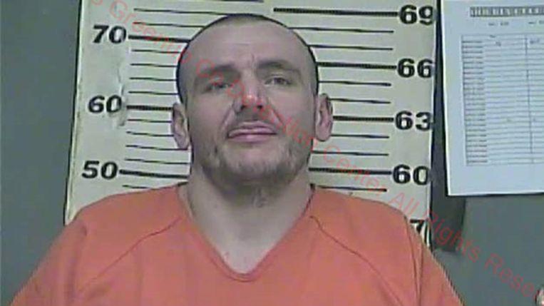 Gevangene Allen Lewis.