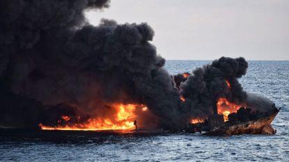 China in race om milieuschade in te dijken na zinken olietanker
