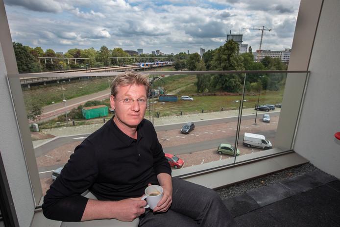 Paul van Nunen in het nieuwe kantoor van Brainport Eindhoven.